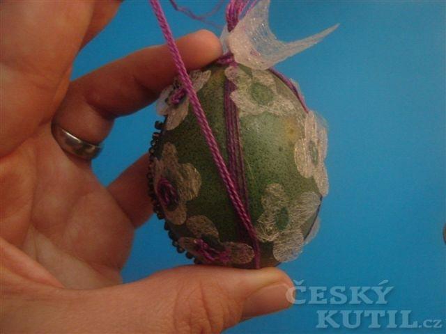 Netradiční zdobení velikonočních vajíček