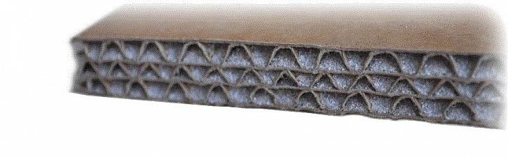 Akustická deska Wolf TRI na principu těžké hmoty v podobě jemného křemičitého písku, jenž vyplňuje vnitřní prostor desky, která je vyrobena z tvrdého kartonu. Tloušťka desky od 10 do 15 mm. Plošná hmotnost od 12 do 18 kg/m2.