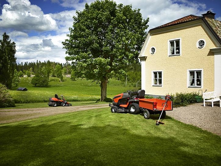 Využití traktoru a rideru...zvolíte si rider nebo traktor?