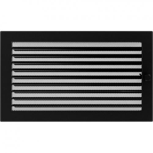 Krbová mřížka 22x37 BASIC černá s žaluzií