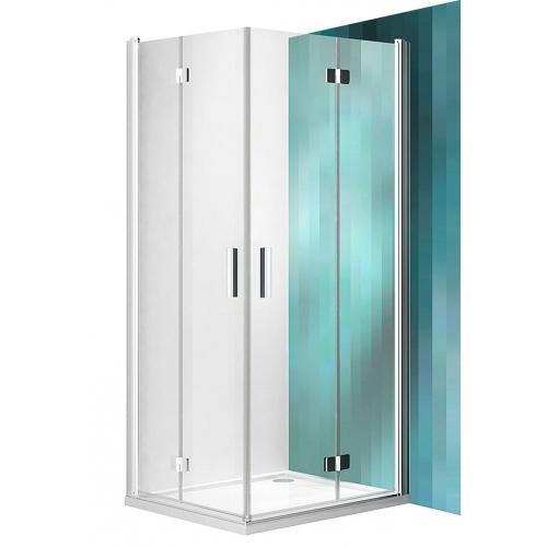 ROLTECHNIK Sprchové dveře do niky zalamovací TZNP1/1200 brillant/transparent 739