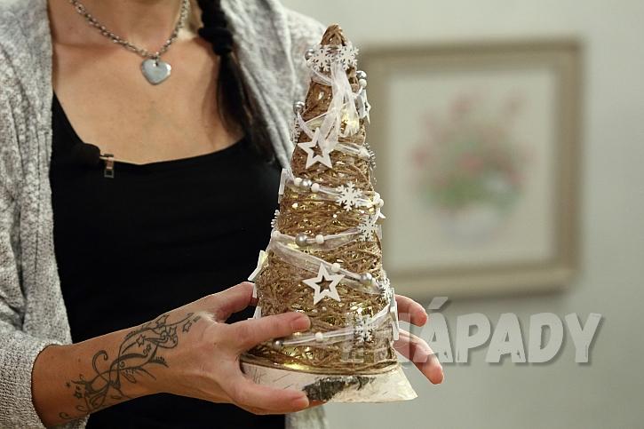 Netradiční vánoční stromeček