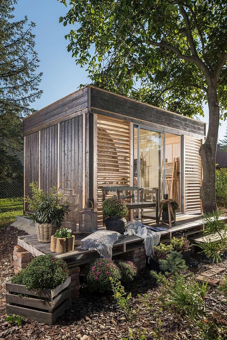 Zahradní domek po