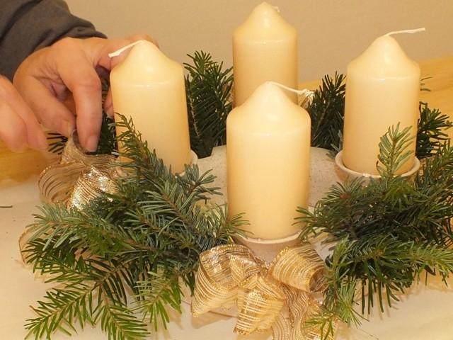 Návod na adventní svícen