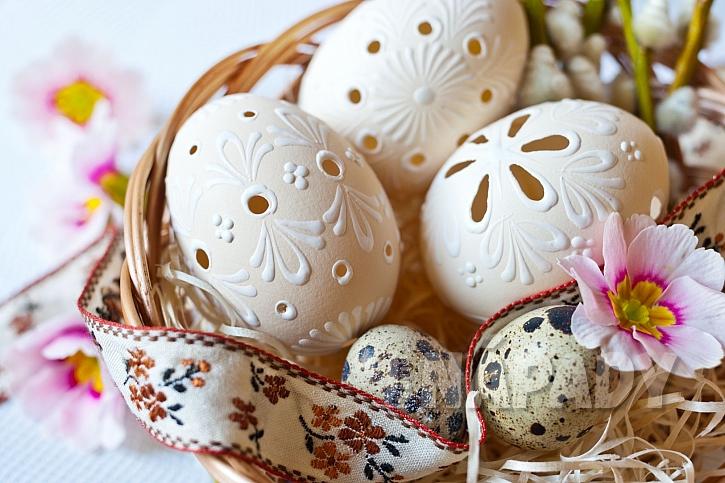 Madeirová vejce jsou vkusnou dekorací pro Bílou sobotu (Zdroj: Depositphotos.com)
