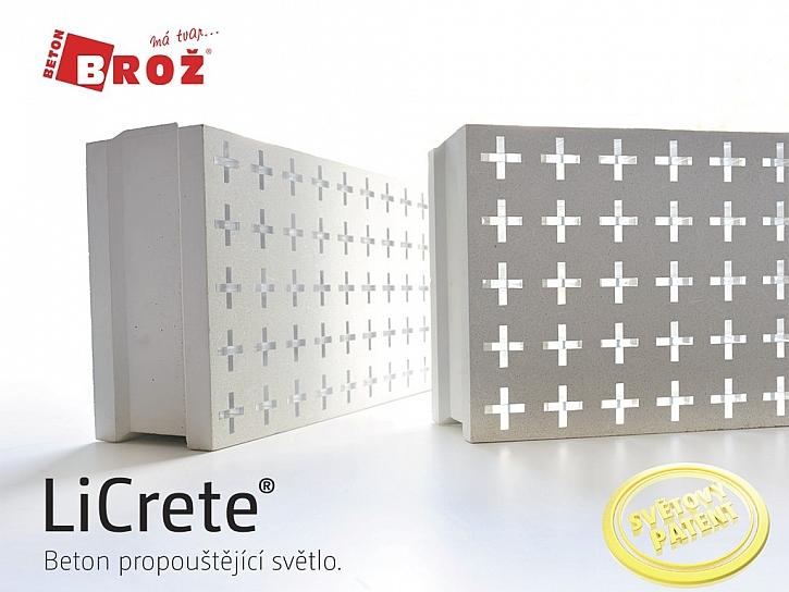 Licrete - Beton propouštějící světlo