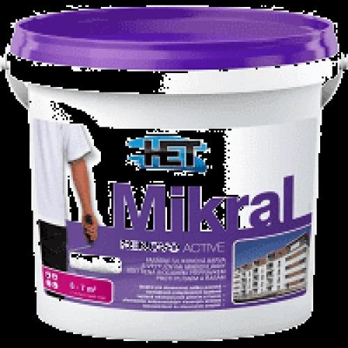 Het Mikral Renovo Active fasádní barva proti plísním a řasám, 5 kg
