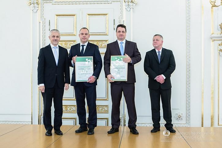 CIUR získal ocenění za dlouhodobě ekologicky šetrnou výrobu