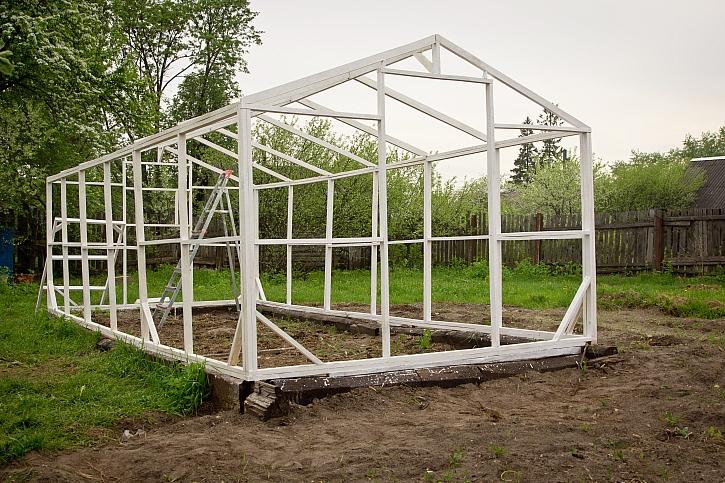 Kostra skleníku