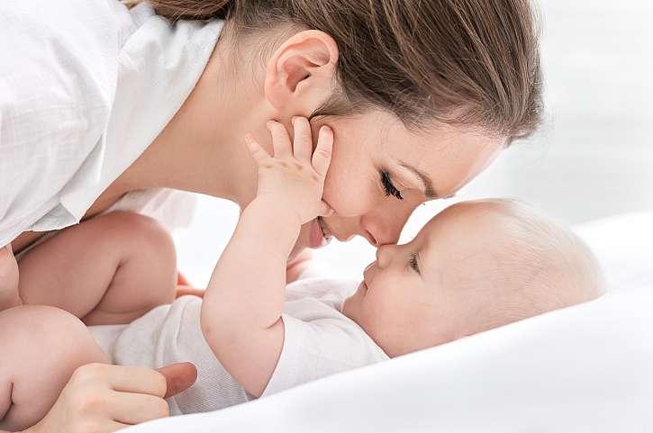 Maminka a miminko