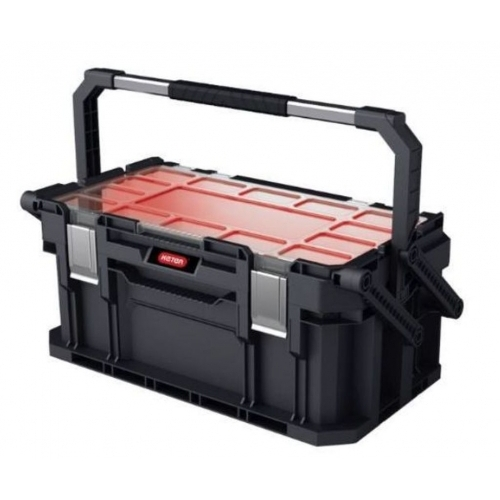 KETER CONNECT Cantilever box s organizérem 22´´ black/red