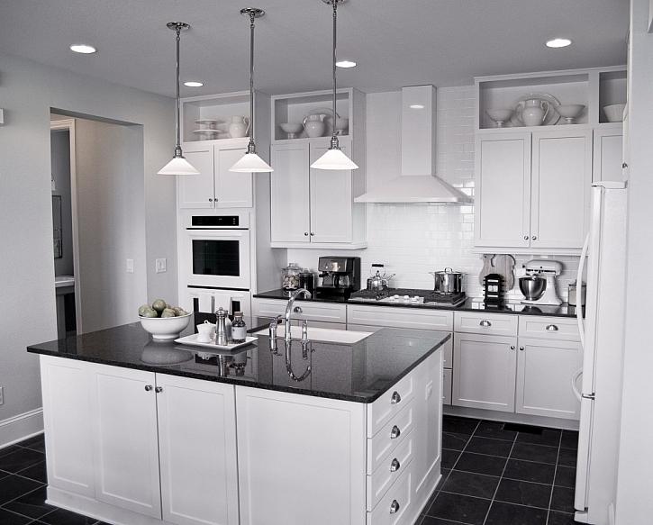 Kuchyně s ostrůvkem je snem nejednoho kuchaře, nabízí mnoho prostoru pro práci