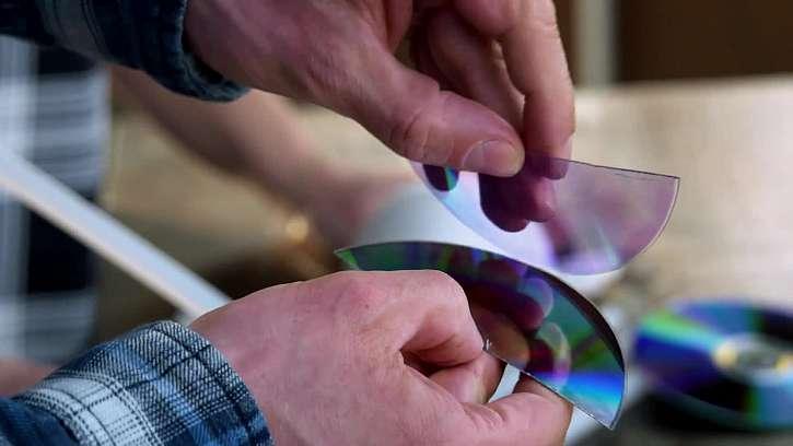 Oddělení části CD
