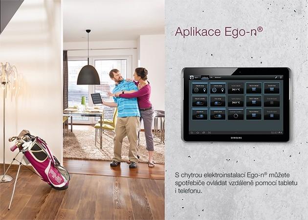 Ego-n - osvětlení, žaluzie, spotřebiče - ovládání telefonem a tabletem