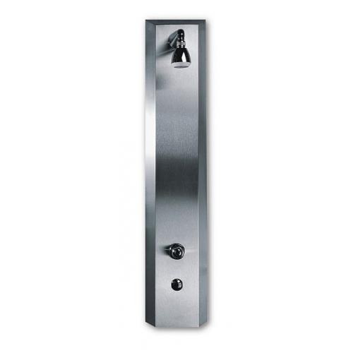 SANELA Sprchový panel SLSN 02ETB integr. senzor,2 vody,termost. ventil,bat.napájení
