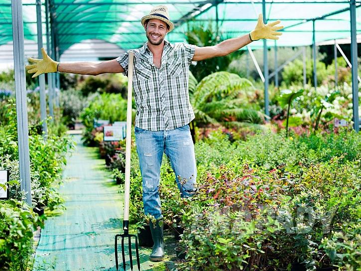 Spokojený zahradník