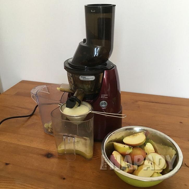 Odšťavování jablek
