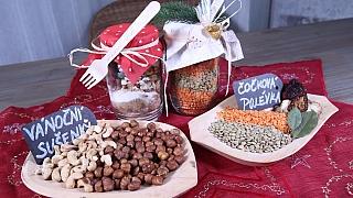 Jedlé sklenice jako originální vánoční dárek: Pikantní čočková polévka