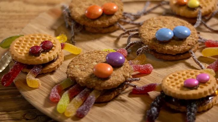 Recept na sušenkového pavouka