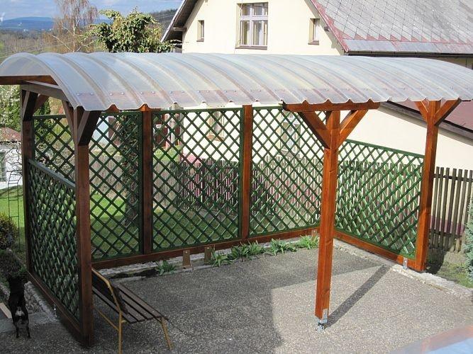 Samonosné oblouky - krytina pro drobné stavby i k prosvětlení budovy