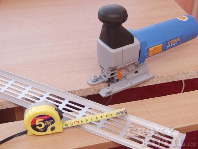 Postup instalace mřížky