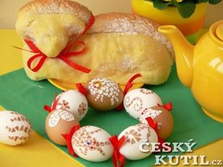 Velikonoční mozaiková vajíčka