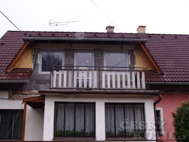 Oprava střechy a úprava obytného podkroví