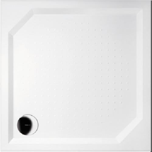 GELCO G5 Aneta čtvercová sprchová vanička 100x100 profilované dno, bílá