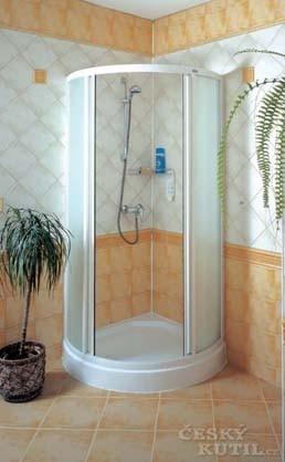 Trend v koupelnách: sprchový kout