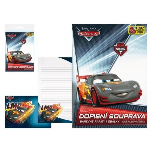 MFP dopisní papír barevný LUX 5+10 Disney (Cars 2)