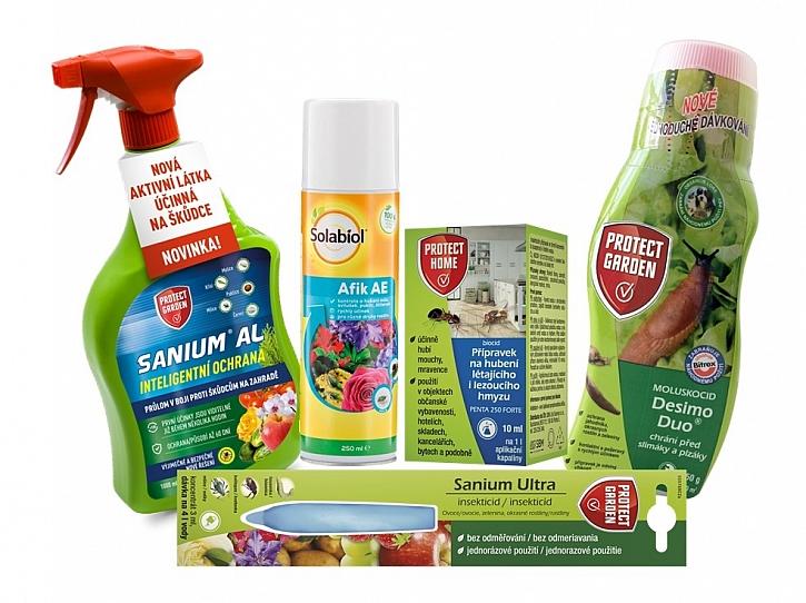 přípravky na ochranu rostlin