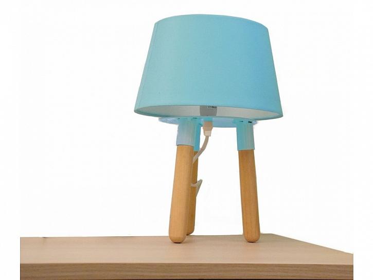 modrá lampička