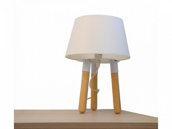 bílá lampička
