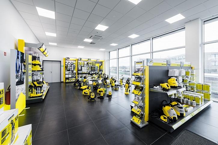 Nové sídlo Kärcher: výhody pro zákazníky