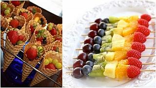 3 tipy na silvestrovské pohoštění z ovoce