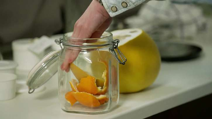 Slupky od citrusů