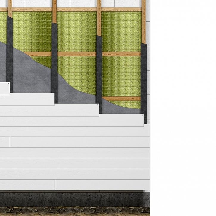 Překládané fasády – horizontální