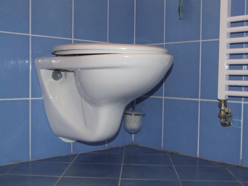 Závěsné WC