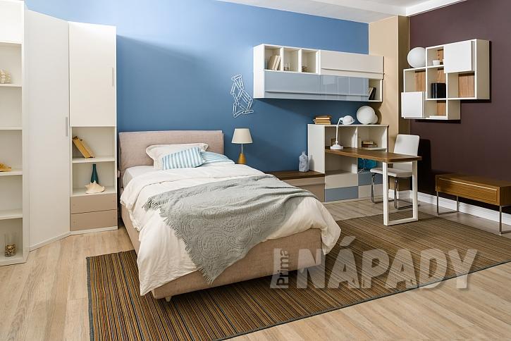 V rámci volby barvy do ložnice je modrá jasnou jedničkou (Zdroj: Radoslav Ptáček)
