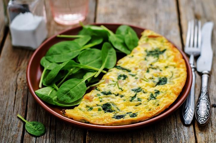 Zelený čtvrtek = zelené jídlo