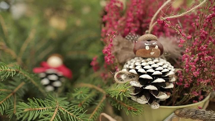 Výroba originálních vánočních ozdob na stromeček podle naší fantazie