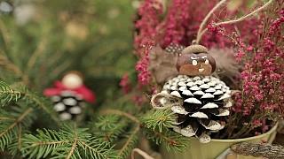 Výroba originálních vánočních ozdob na stromeček
