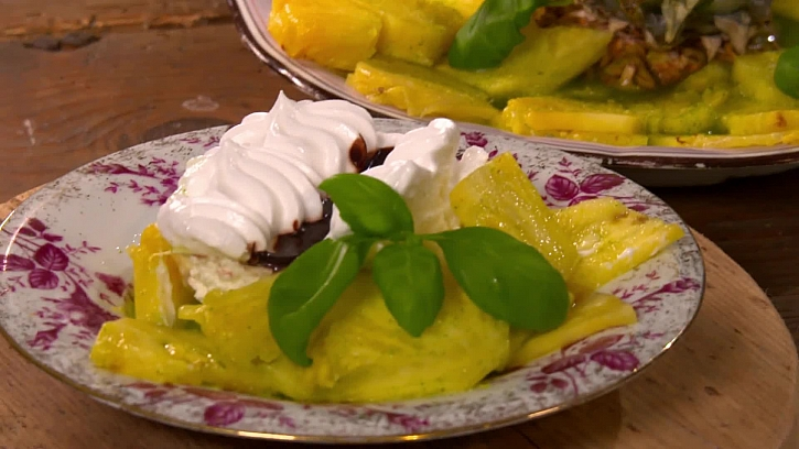 Neskutečný recept na ananasové carpaccio