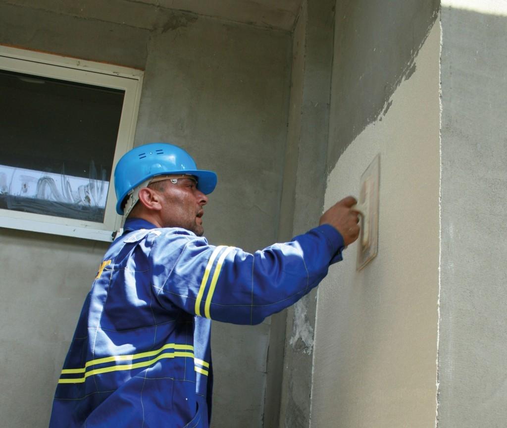 Zateplení kontaktní fasády minerální vatou