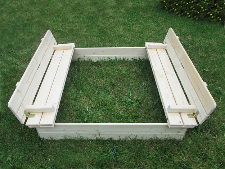 Z krytu se dají poskládat pěkné lavičky