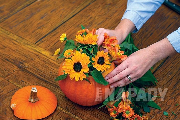 3. krok: přidejte další květiny