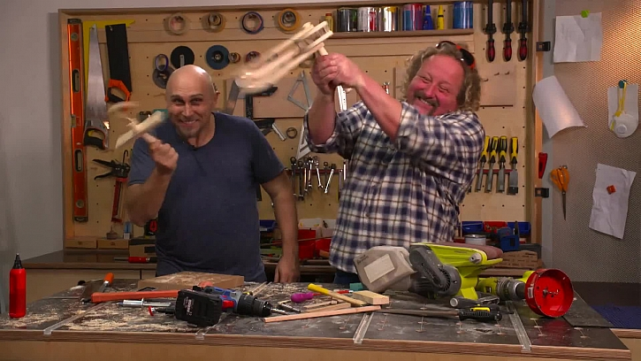 Výroba velikonočních klapaček a řechtaček