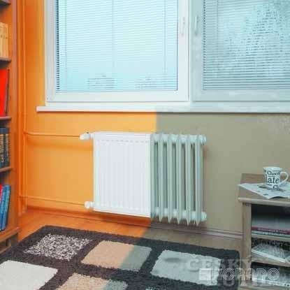 Výměna starých radiátorů za KORADO RADIK KLASIK-R