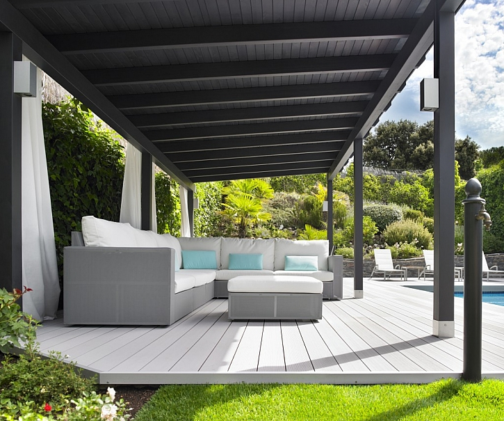 Snadná montáž i údržba teras