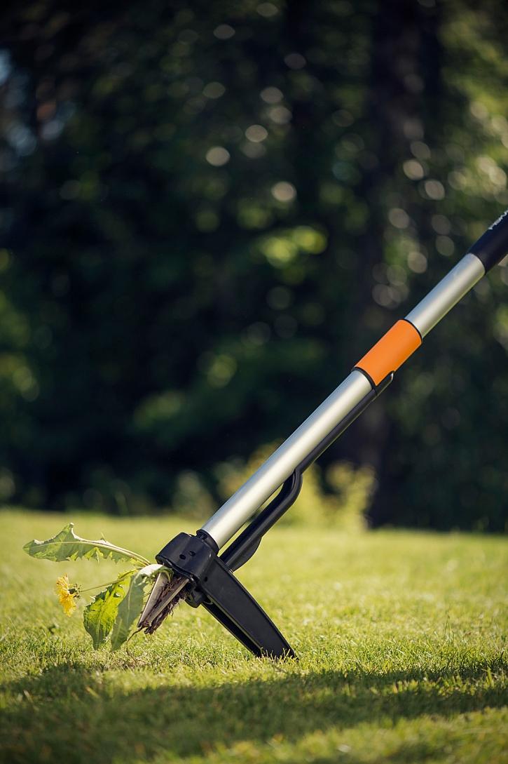 mechanické odstranění plevele